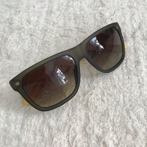Lacoste sunglasses in green